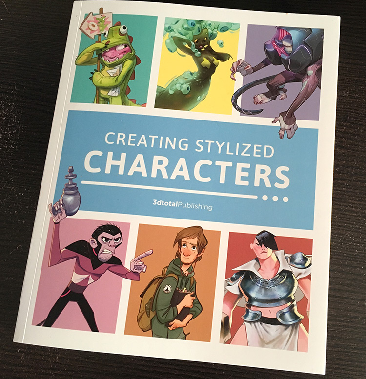 Creating Stylized Characters - Full Book Cover