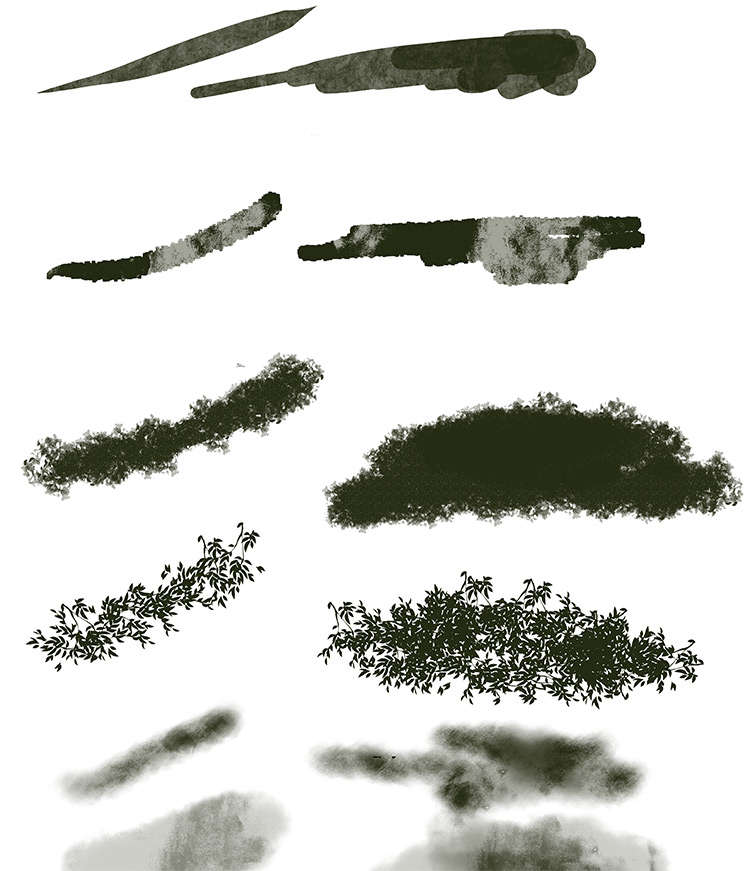 Elisven brushset