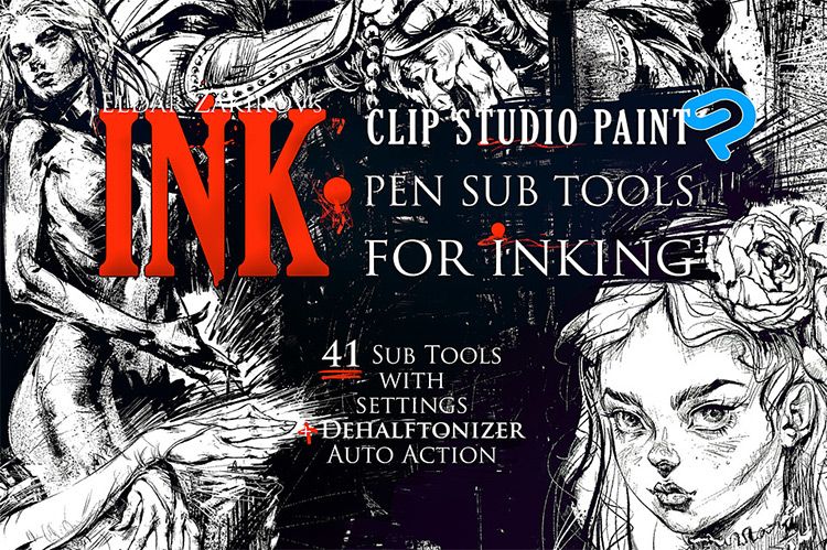 Ink brushes for CSP