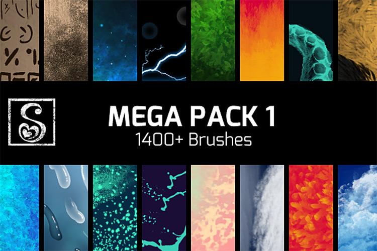 Shrineheart mega brush pack for CSP