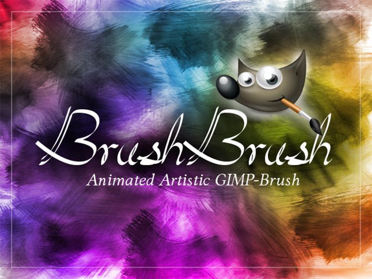 gimp artistic brushes
