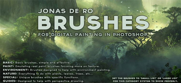 Jonasdero freebie gimp brushes