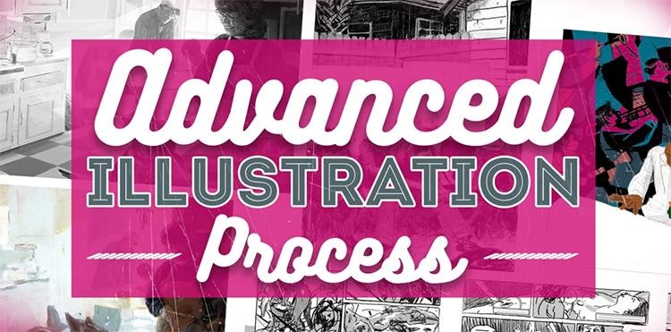 Pencil Kings Illustration process