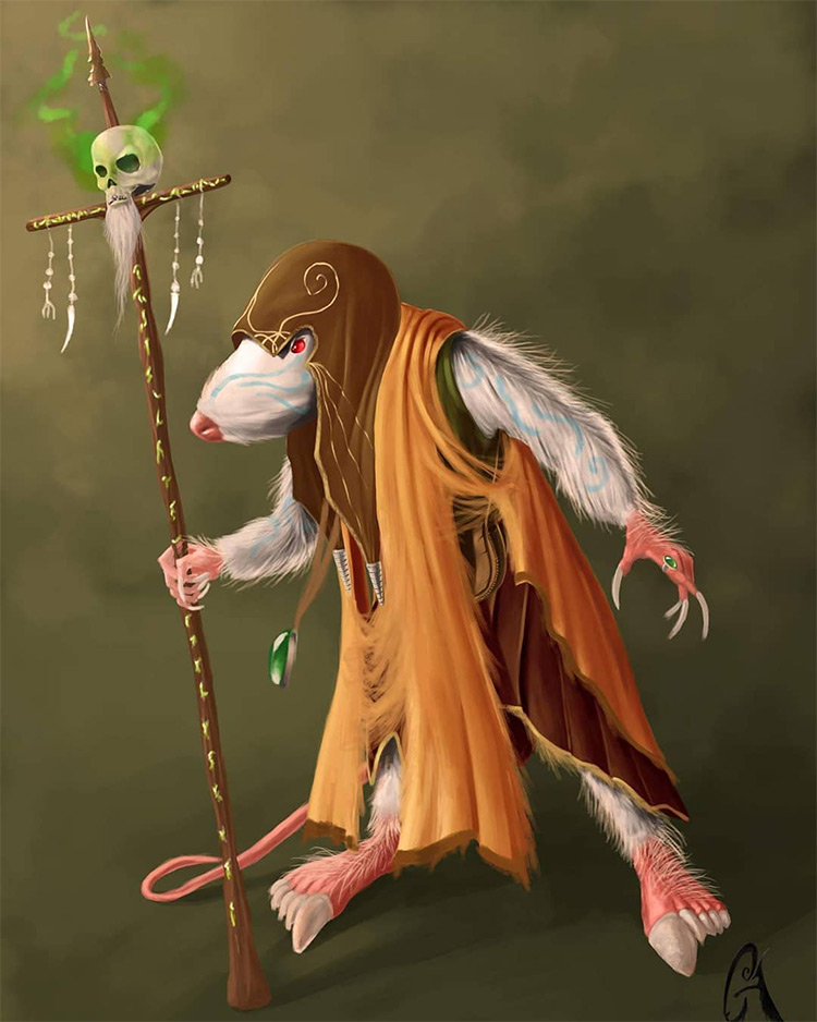 Rat Creature Artwork