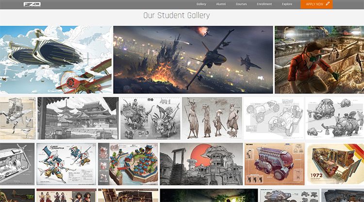 FZD School of Design Homepage