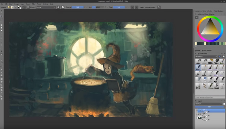 Best Digital Painting Drawing Software For Artists Mac Windows Linux