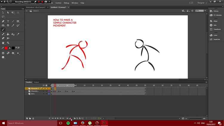 best adobe animate cc tutorials online courses for self learning