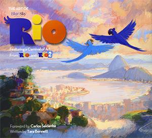 art of rio cover artbook