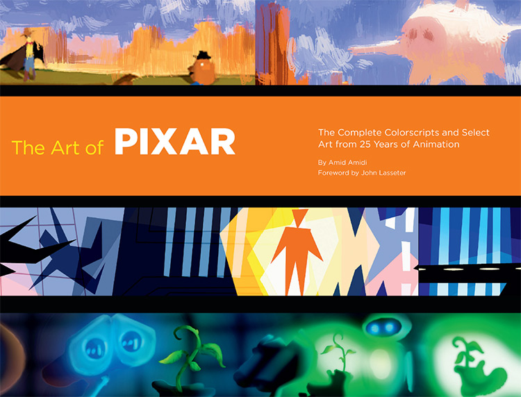 pixar 25th anniversary artbook cover