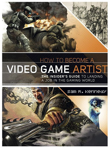 sam kennedy game art book