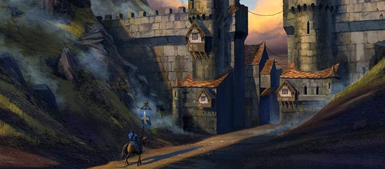 medieval gate painting