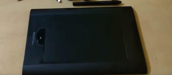 Review: Huion K58 8″x5″ Graphics Drawing Tablet