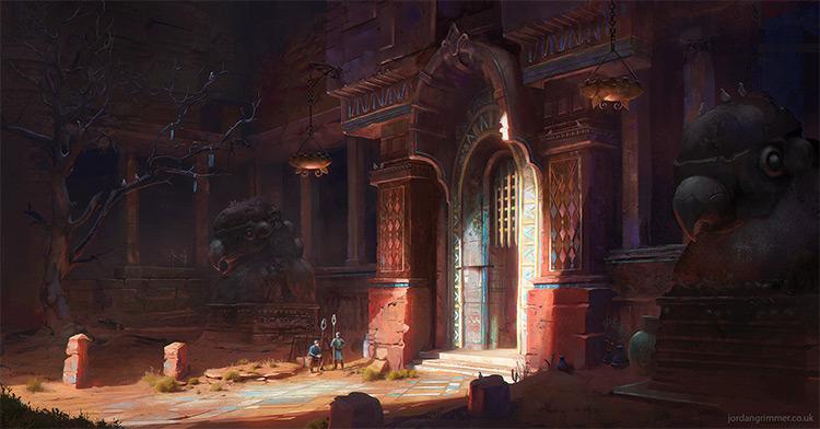 grimmer lighting bird house temple