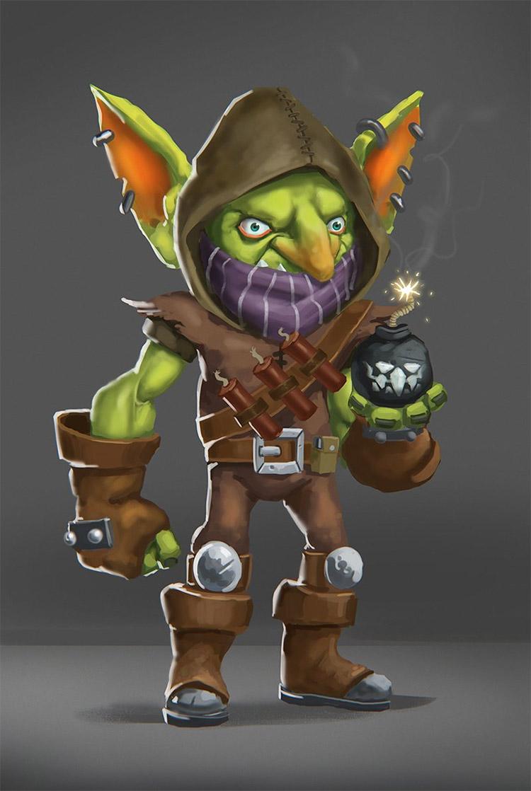goblin bomber creature