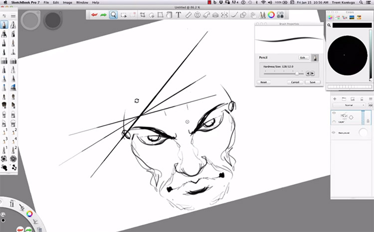 sketchbook pro beginners