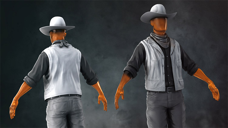 realistic clothing zbrush videos