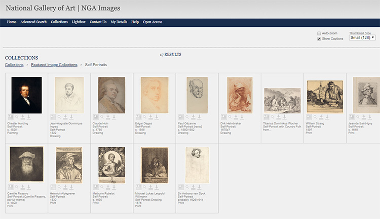 NGA online gallery