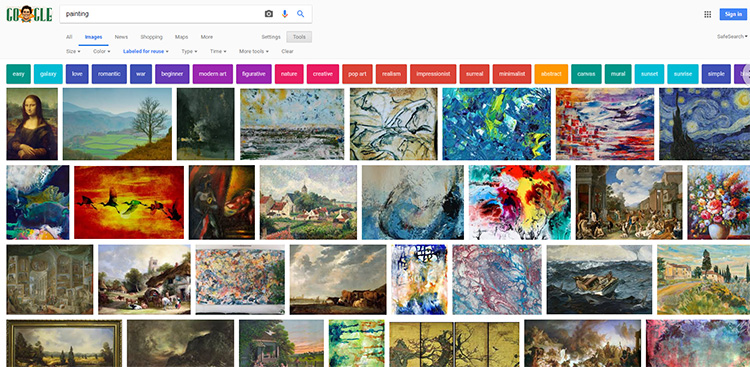 Google Images royalty free art
