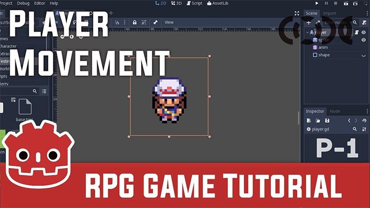 Godot Tutorials For Easy 2D & 3D Game Design