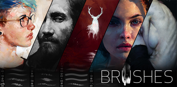 40+ Photoshop Brushes For Artists: Best Drawing & Painting Brush Packs