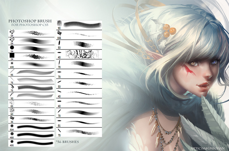Sakimichan brush pack