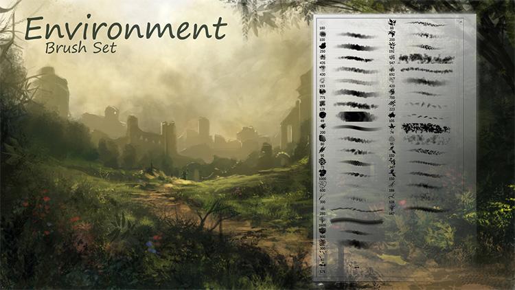 Environment Brush Pack