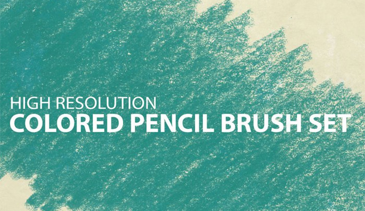 Colored Pencil Brushes