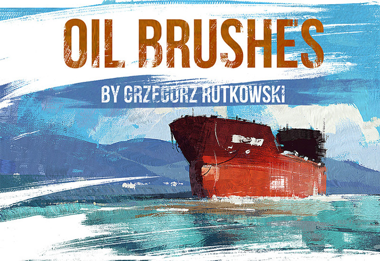 Basic Oil Brushes
