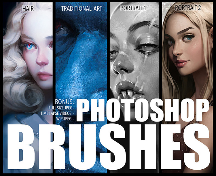 brushes and videos