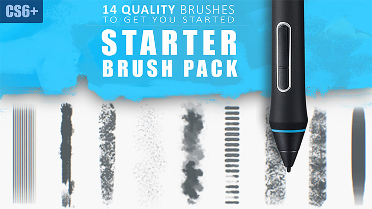 starter brushes photoshop