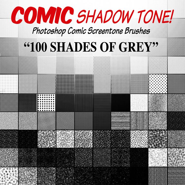 Comic & Manga brushes Photoshop CC