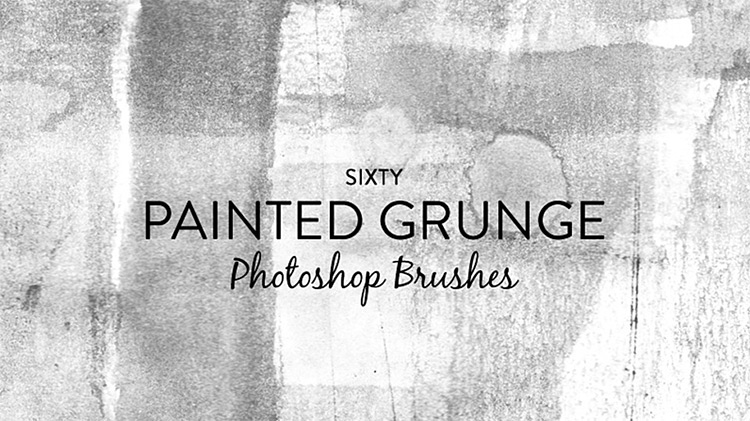 Painted Grunge Brushes for PS CC