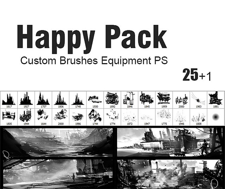 Happy Pack brushes for PS