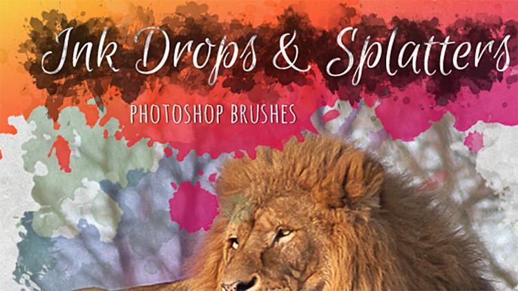 Ink Splatter Brushes for PS CC