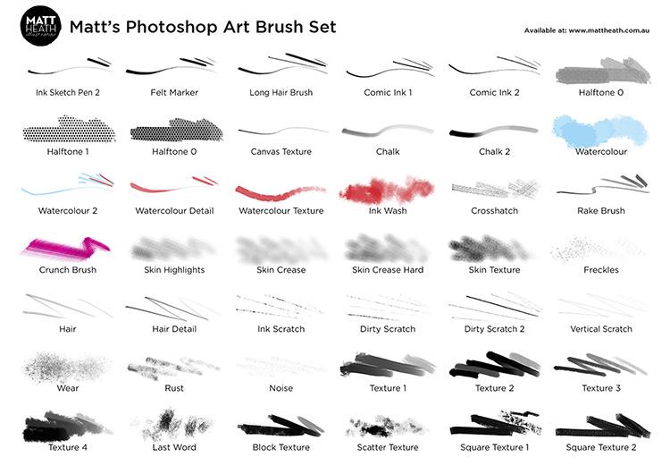 Matts Art Brush Set