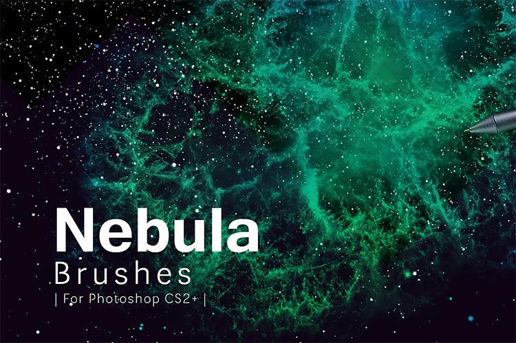 Nebula Photoshop brushes pack