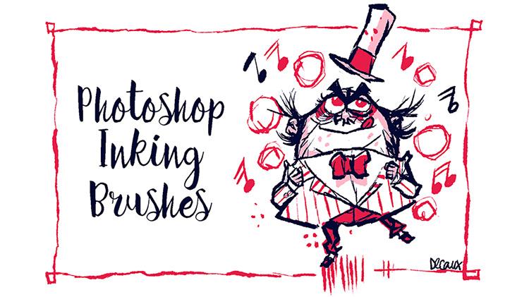 PS CC inking brushes