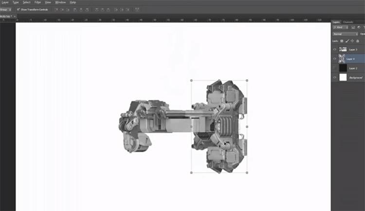 Scifi Photoshop CC brushes