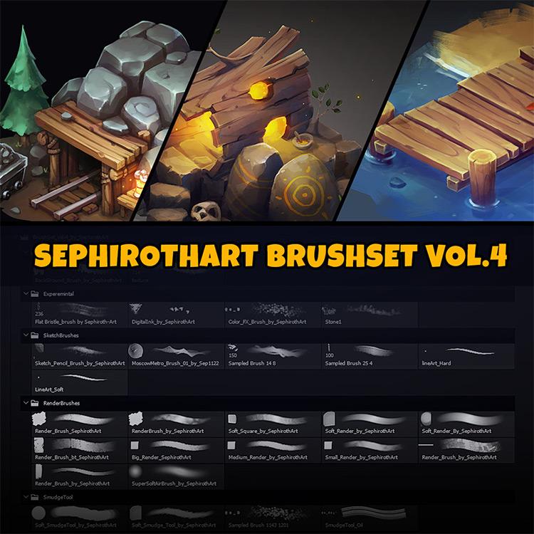 SephirothArt PS brush set