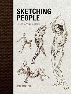 sketching people drawing book