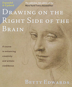 drawing right side brain
