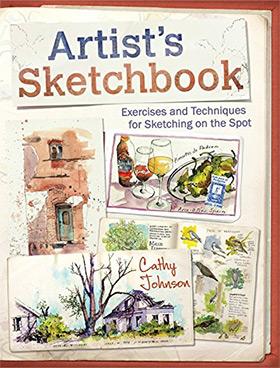 artists sketchbook cover