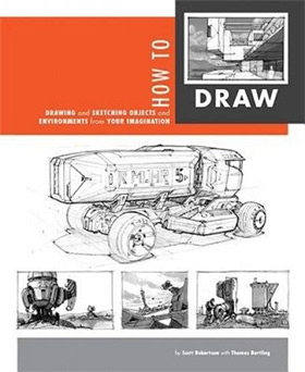 howto draw book