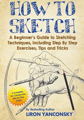 how to sketch book cover