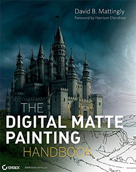 digital matte painting book
