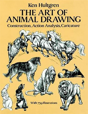Best Books For Learning To Draw Animals: Anatomy & Technique