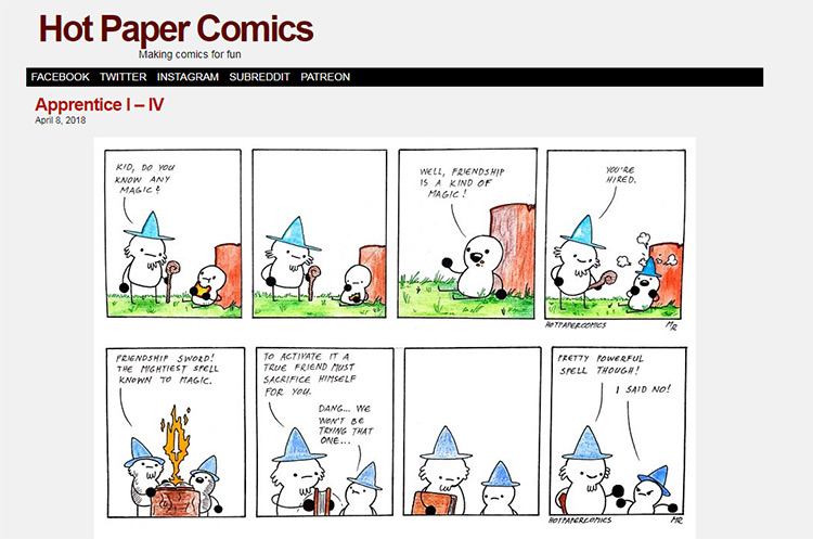 Hot Paper Comics