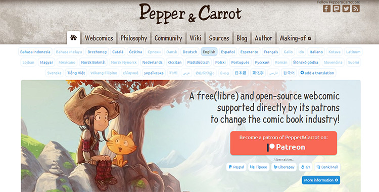 Pepper Carrot