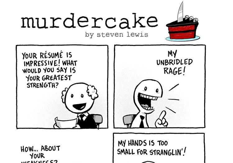 Murdercake comic