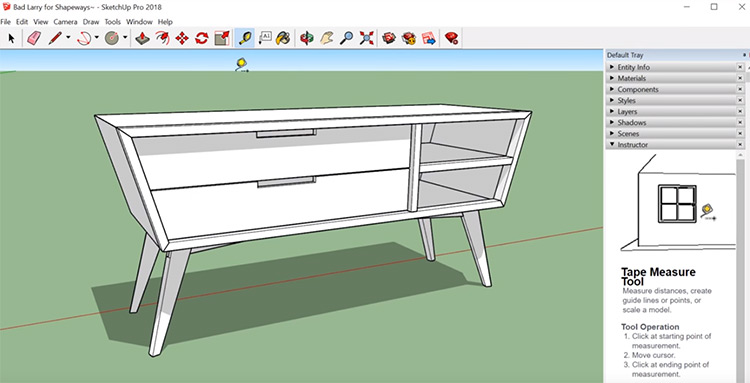 Sketchup program